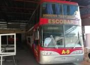 Omnibus scania piso y medio en escobar