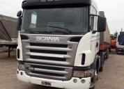 Scania modelo 2009 en el carmen
