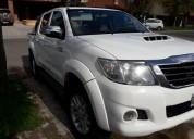 Toyota hilux d c 4x4 srv 2012 en mar del plata