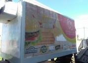 Vendo furgon termico en oliva