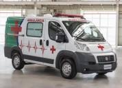 Fiat ducato 2018 financiado furgon ambulancia combinato en quilmes