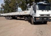 Camion Tector Iveco con Semirremolque en Ramallo