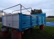 Vendo carroceria baranda volcable en azul