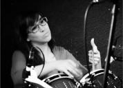 Clases de percusion latinoamericana en armus profesora alejandra en palermo y parque centenario en b