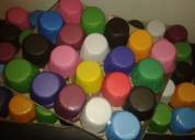 Pirotin cupcakes liso o estampado color