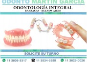 Dentista odontología implantes dentales barracas