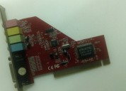 Placa de audio pci