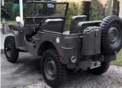 Jeep willys 4 x 4 1946 restaurado a nuevo