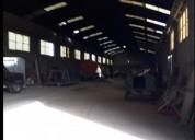 Vta galpon 1700 m2 sobre 5600 m2 pque industrial b blanca en bahía blanca