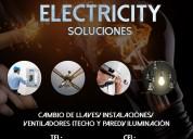 Electricista con garantía