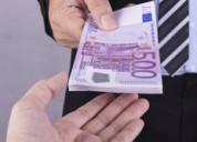 Oferta de financiación gratuita a particulares