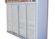 Heladera exhibidora vertical 4 puertas - ¡¡ bajo c