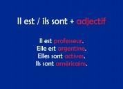 Clases francés ultra personalizadas profe nativa