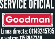 Service oficial goodman servicio tÉcnico r