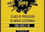 Clases producción de musica electronica caseros