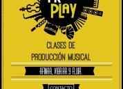 Clases de producción musical en caseros.