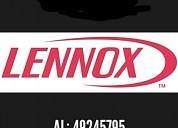 Service lennox oficial al instante