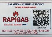 Service de caldera baxi zona martinez 1155243969