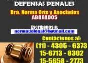 Abogados,despidos divorcios desalojos penal,sucesi