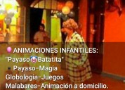 Animacion de fiestas infantiles y de adultos Shows