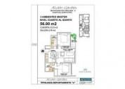Alvear 900 u d 62 000 departamento en venta 1 dormitorios 36 m2