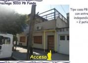 Sarachaga 5033 es un tipo casita pb contrafrente con entrada unica 5000 pb u d 189 900 2 dormitorios