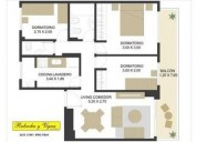 Rivadavia 3100 4 u d 135 000 departamento en venta 3 dormitorios 60 m2