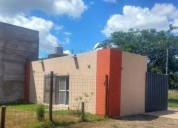 Casa en esquina nueva lista para ampliar 1 dormitorios 35 m2