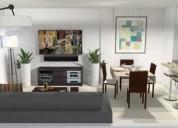 Excelente 3 ambientes con terraza propia de 64 m2 cochera opc 2 dormitorios