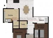 Venta departamento tipo casa 3 ambientes con cochera en parque avellaneda 2 dormitorios 61 m2