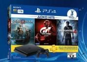 Playstation 4 slim nueva.