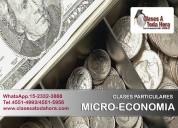 Clases particulares de microeconomia- profesor uba