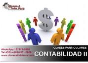 Clases particulares sistemas contables contab ii