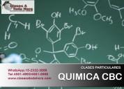 ¿necesitas clases de apoyo para quimica cbc?