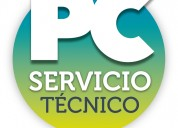 Service de pc y notebooks a domicilio