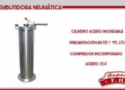 Embutidora Vertical 15 Kg + Tiernizador - NUEVOS