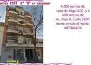 Cervantes 1500 2 u d 149 900 departamento en venta 1 dormitorios 42 m2