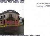Sarachaga 4301 esquina goya planta baja a la calle ventila e iluminan todos los ambientes 1 dormitor