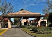 Terreno de 814 mts en la delfina 1 dormitorios 814 m2