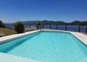 Excelente casa en villa carlos paz con costa directa al lago bo costa azul residencial 3 dormitorios