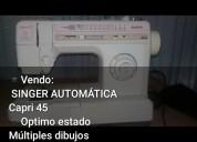 Singer capri 45 automática vendo urgente