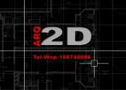 Servicio de arquitectura gráfica 2d