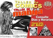 Curso de comic y manga 2019