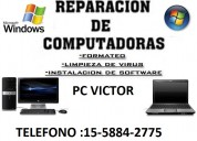 Tecnico de pc y notebooks a domicilio en palermo