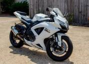 Suzuki gsx-r 750 motocicleta