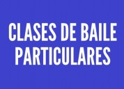 Clases particulares baile profesor 2019 capital