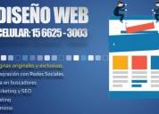 Diseño de paginas web marketing redes sociales