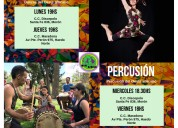 Taller de percusion y danza africana
