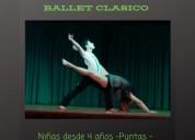 danza contemporanea - niñas ballet desde 4 años