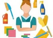 Busco trabajo de empleada domestica